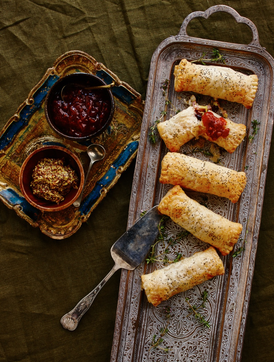 Shredded Ham and Cranberry Pockets - Recipe by DON®