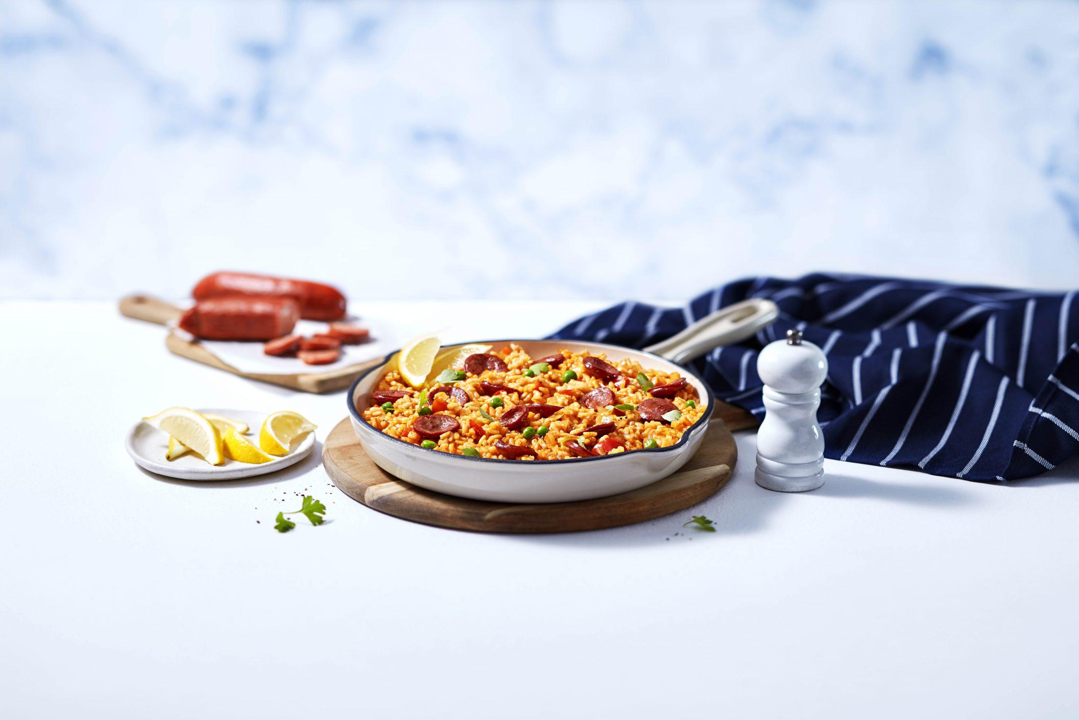 Chorizo & Pea Paella